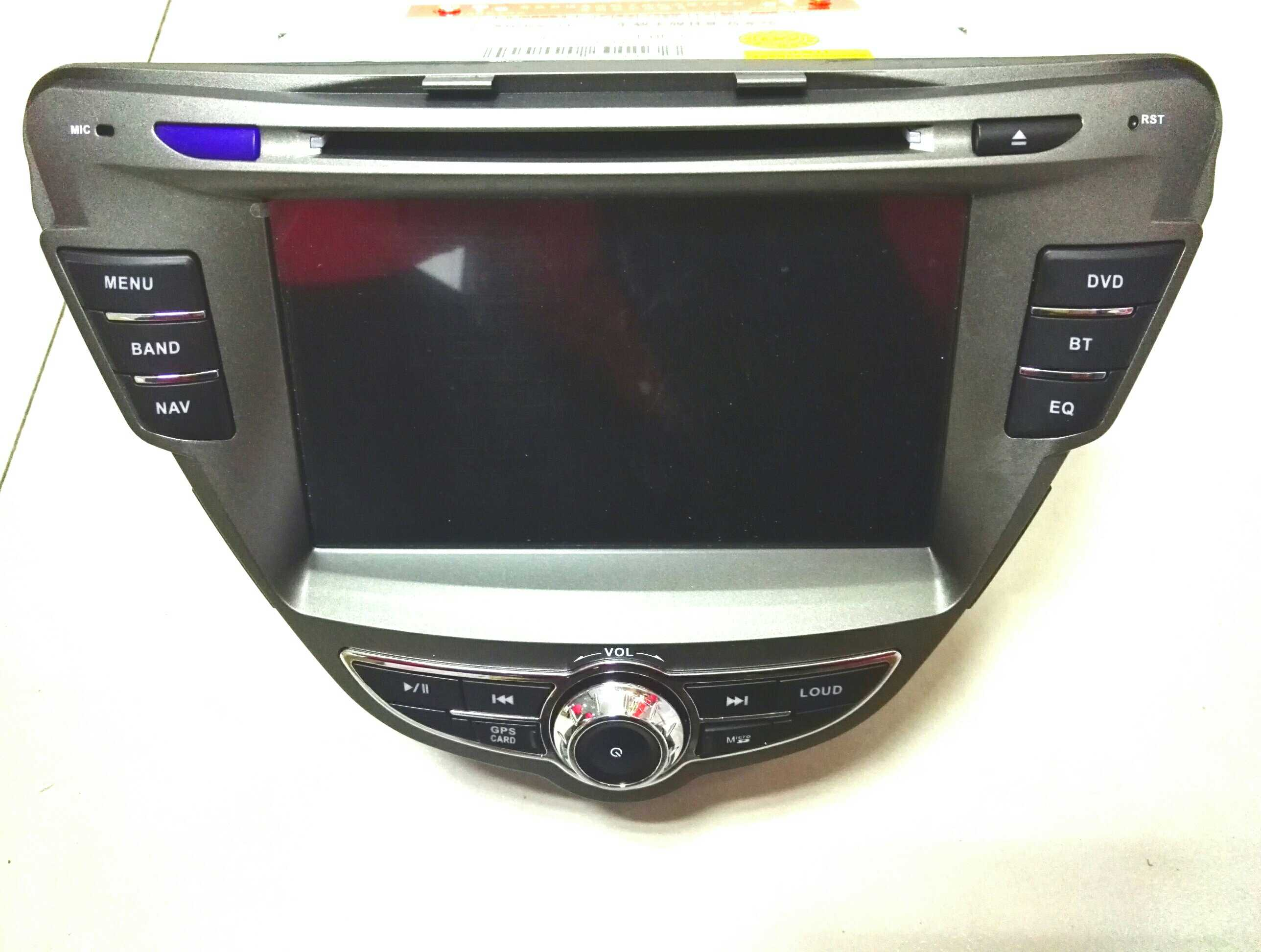12 Special DVD Navigation Integrated Machine for Modern Lanzhou Motor Vehicle Supports Reversing Image of Traffic Recorder