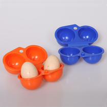 Outdoor Camping equipment Egg Box 2 packed with portable egg box two boxes of egg box anti-crushing storage egg box