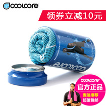 Sports towel Authentic American coolcore mcgrady cold suction sweat quick dry cooling yoga fitness running ice towel