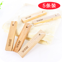 5 pieces of natural camphor wood block camphor solid wood bar camphor prevention in wardrobe wardrobe deworming insect-resistant wood camphor balls