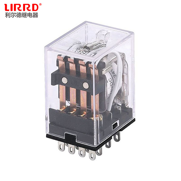[Liard genuine] LHH54P small electromagnetic relay MY4NJ four groups