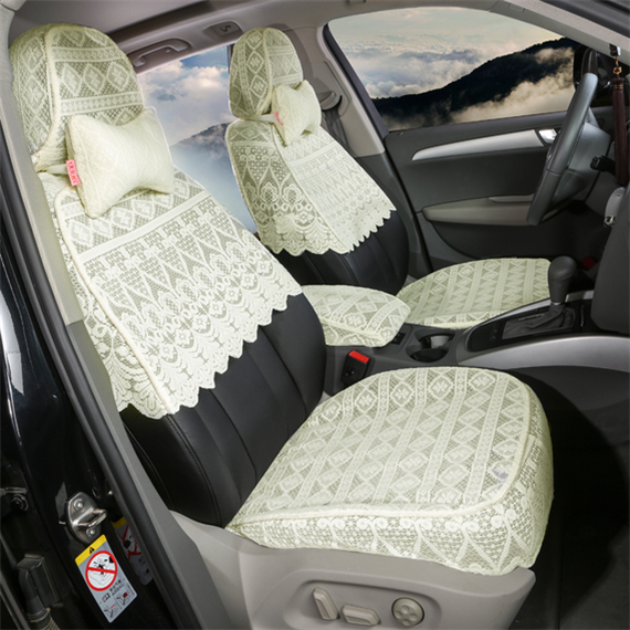 Customized Car Riding Set Thickened Half-Section Lace Seat Set Audi A6LQ5 Passat Metten Camry