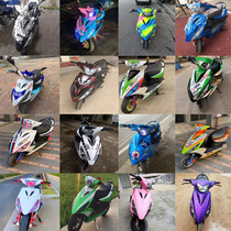 New Ghost Fire 1 generation shell modified generation gy6 Sanyang de Enoch electric motorcycle shark scrub pull shell