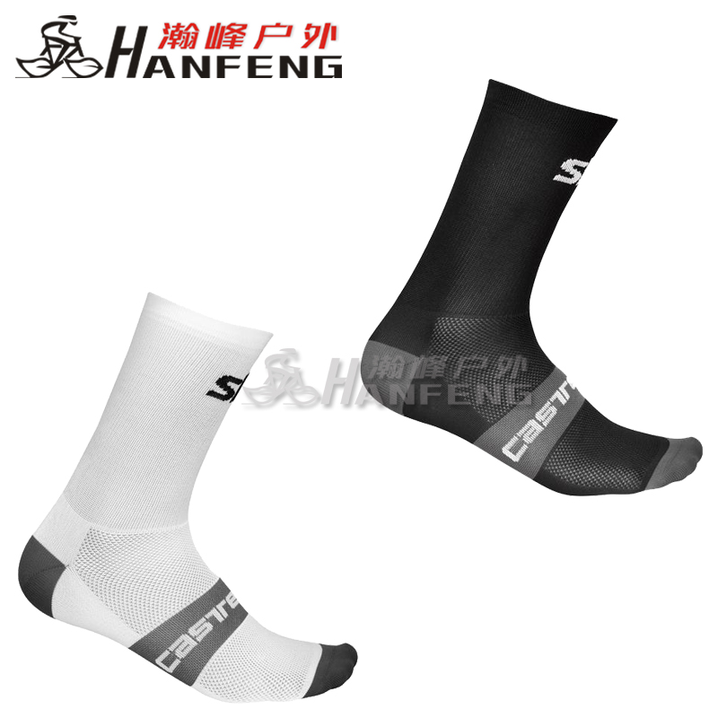 Genuine 19 Scorpions Castelli SKY Sky Team Summer Men and Women 12CM Cycling Socks Breath and Sweat