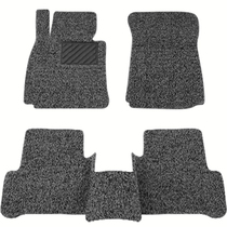 Car wire ring floor mats universal easy to clean the bike mats carpet-type Single-Chip main copilot can cut the mats