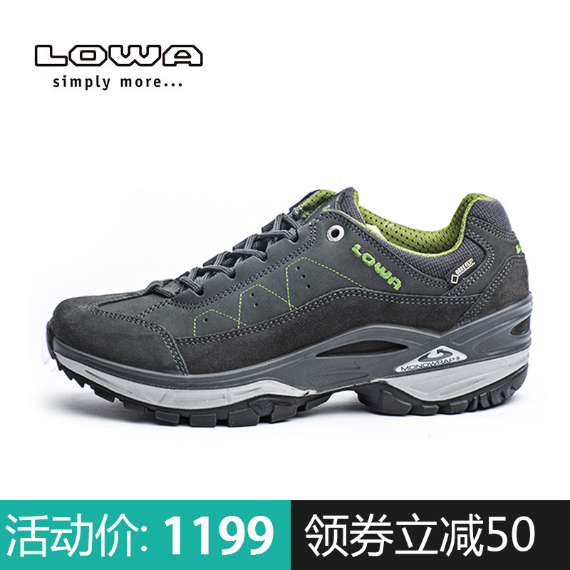 LOWA waterproof hiking shoes TORO II GTX men's low shoes L310877