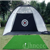 New Indoor Golf Practice net Set swing strike pad batting cage personal home golf trainer