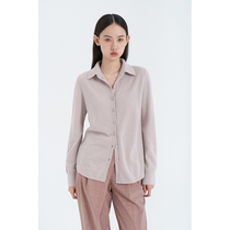 CCHER Simple cashmere knitted shirt Casual commuter Sisi and autumn and winter women XZMC4076 No discount Order 1