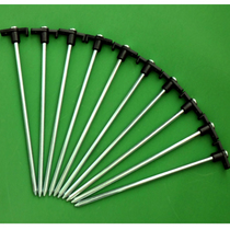 Tent nail curtain nail with handle nail steel nail length 18cm with wind rope hole butyl 10