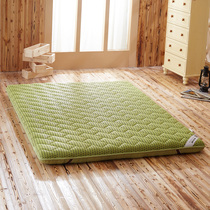 Thicken 10cm tatami bed mat with foam mattress dormitory 1.51.8 meter folding mats are