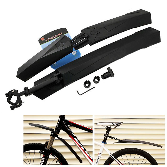 [The goods stop production and no stock]Mountain bike universal fender quick release folding off high-end bike fender