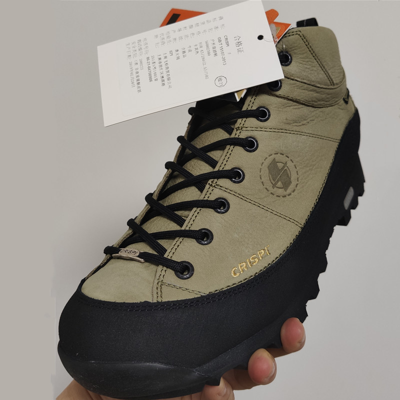 Ultra-low-cost Italian CRISPI MONACO GTX mens and womens outdoor waterproof help hiking shoes