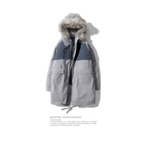 UMAMIISM 16FW HAZE the winter haze down cotton in the long section Hooded Coat Jacket
