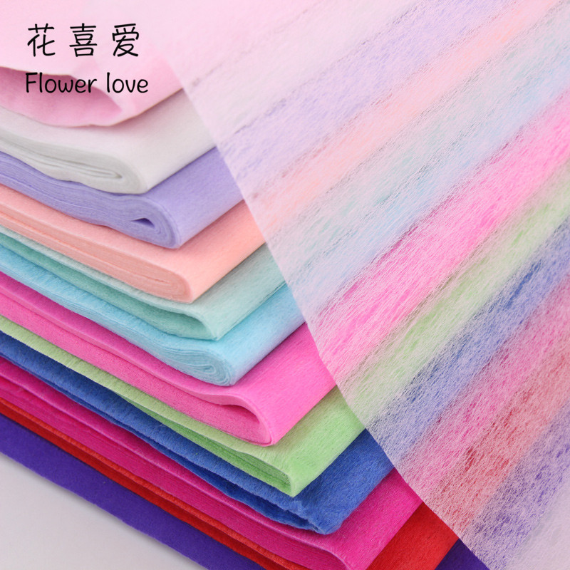 Special monochrome ordinary cotton paper diy cartoon bouquet flower wrapping paper florist decorative supplies gift packaging