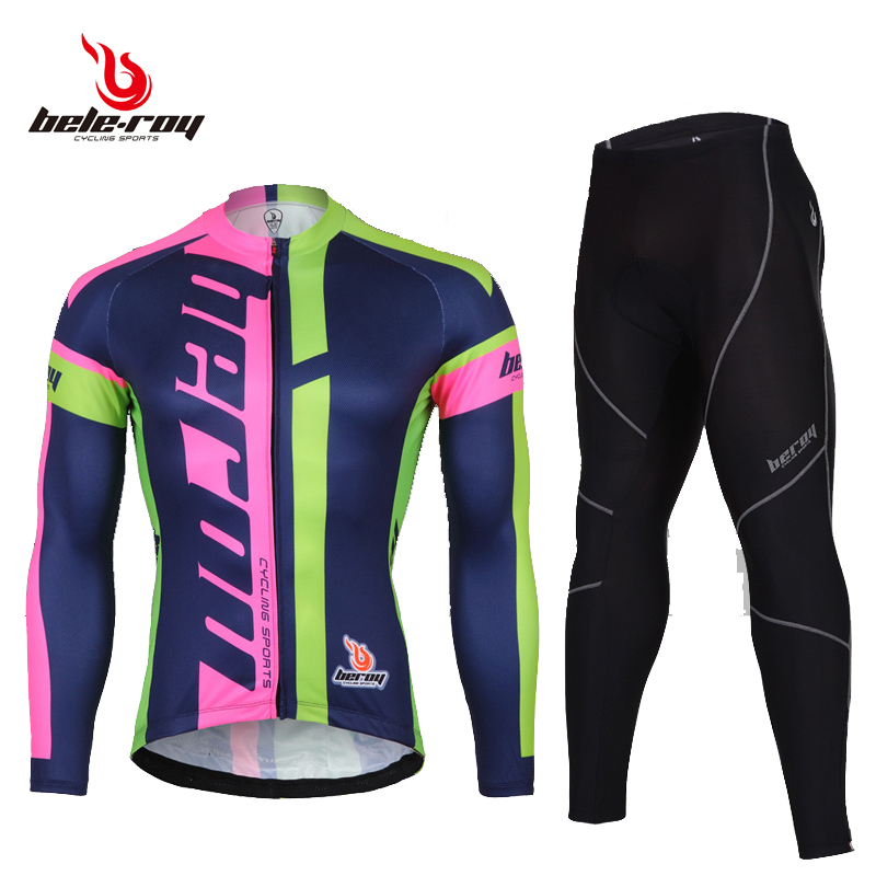 Bicycle cycling suit Spring and Summer women's bicycle suit with men's breathable and quick-drying spring clothes fleet Edition