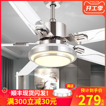 Fan lamp ceiling fan lamp living room chandelier ceiling fan integrated home dining room lamp with fan bedroom off fan large force