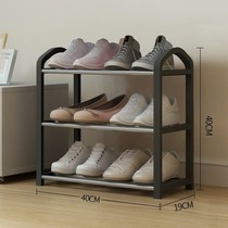 Removable bedroom white shelf single removable simple shoe rack save space door two double shelves three