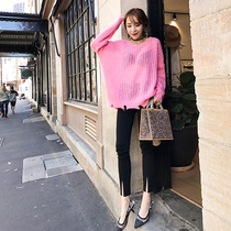 High quality occur when the slim slimming jeans tight black pencil pants