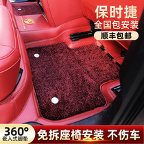 360 Aviation Soft Pack Floor Mat Porsche Cayenne panamera Palamera macan taycan Full surround