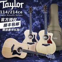 Tyler Taylor 214CE 110E 114CE E Mexican 41 single-board electric box folk wood guitar