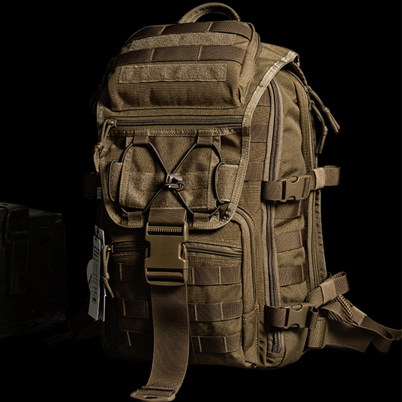 Outdoor 07 Tactical Backpack Individual Soldier Equipped with Multifunctional Special Forces Male Camouflage Shoulder Pack Attack Pack Water Bomb