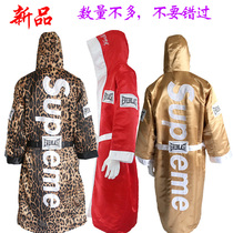 2018 new Supreme Boxing robes Chinese style bucket costume sexy mens and womens cloak cloak coat