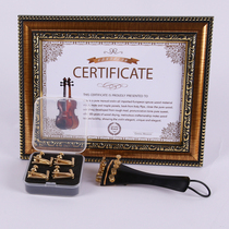 Tais new gold violin fine-tuning the size of the complete Gold fine-tuning adjustment tuner carbon fiber chord plate