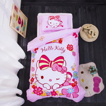 All cotton cartoon children were covered by 36 pieces of Katie Kitty Cat nursery for childrens bedclothes