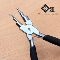 Mia Brand high quality round mouth six-segment styling Clamp 6-segment clamp copper wire winding diy handmade jewelry pliers