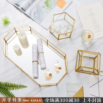 Creative Jewelry Receiving Decorative Box Arrangements Simple Modern Girls'Bedroom Room Nordic Luxury Jewelry Small Arrangements