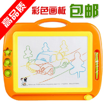 Color magnetic drawing board toys oversized magnetic WordPad Childrens plastic magnetic WordPad Kindergarten Gifts