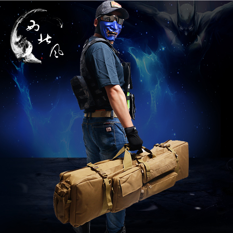 Northwest wind real CS equipped with special package tactical absorbent bullet gun gun bag NERF soft egg grab bag large capacity