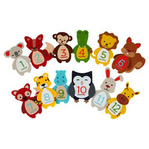 Outlet USA baby animal cloth stickers photo props baby grow felt stickers decorative stickers