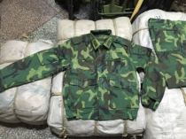 1996 original 87-style camouflage clothing Wu Jing section of the multi-pocket fart pocket summer jungle camouflage suit authenticity