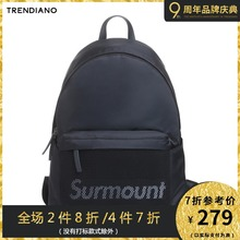 TRENDIANO Men's Summer Dress Street Letter LOGO Shoulder Backpack Men's Bag 3GA252801P