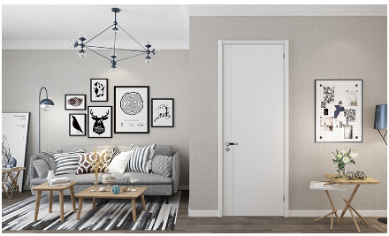 Dalian TATA wood door solid wood composite simple light luxury set color environmental protection mute custom each ID limited to one 樘