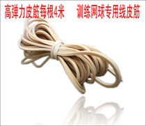 Promotion Upgrade version Rubber Band genuine training Tennis special rubber band tennis Line tennis rubber rope 4 meters
