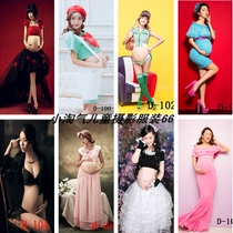 2018 New Korean edition photography pregnant women wear studio theme pregnant women art Photo photo pregnant mommy Photography Dress