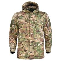 Raytheon instructor tactical windshield in the long M65A Hellcat coat spring and autumn camouflage waterproof stormtrooper climbing suit