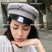 a5738d4716c Us purchasing RUSLAN BAGINSKIY trend embroidery newsboy hat star Yang mi  same paragraph