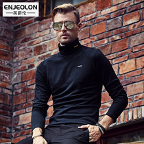 British Prince lenga cashmere turtleneck long sleeved T-shirt and solid winter warm clothing thickened insulation T-shirt bottoming shirt