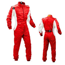 F1 Racing suit Professional Super Type Fire protection professional flame retardant conjoined racing RV Car kart connected racing car