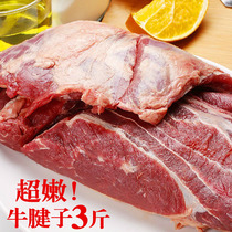 Ningxia Halal fresh stocking cattle beef chop cattle tendon beef leg hind beef rib meat than imported better