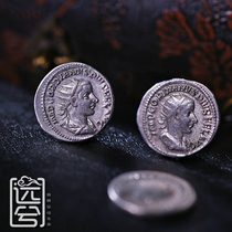 (24 pieces)Ancient Greek and Roman silver coins Naked coins can be customized to design inlaid coins ancient coins GB573