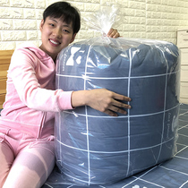 Large bag of quilt storage bag moisture-proof transparent plastic clothes finishing Quilt storage moving packing bag