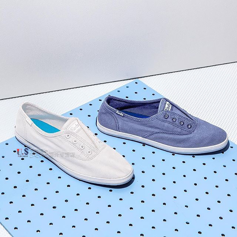Keds 2019 Autumn and Winter Taylor fashion casual canvas shoes of the same European and American fashion brand without laces