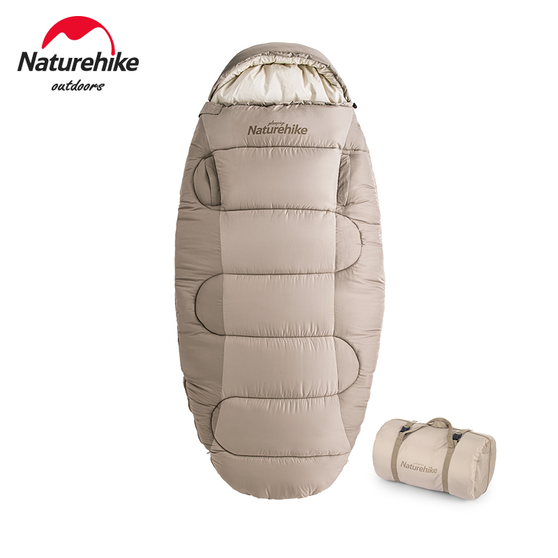 Naturehike guest sleeping cake reach for cotton sleeping bag adult outdoor camping autumn and winter thickening cold