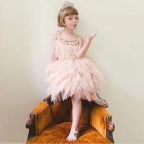 Летние девушки супер фея детская пряжа юбки