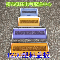 Strong electric box cover PZ30 plastic panel 2 4 6 8 10 12 15 18 20 22 24 return plastic cover plate