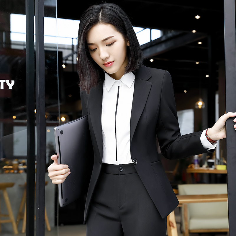 Suit suit womens work clothes are dressed as suits to work clothes small workwear business fashion temperament autumn and winter